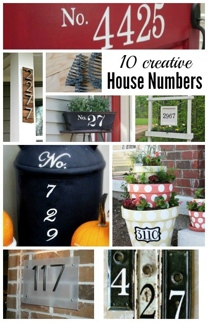 10 Creative House Number Ideas