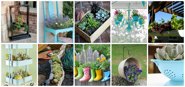 Creative Container Garden Ideas | Inspired Home Style