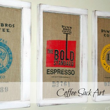 Coffee Sack Art