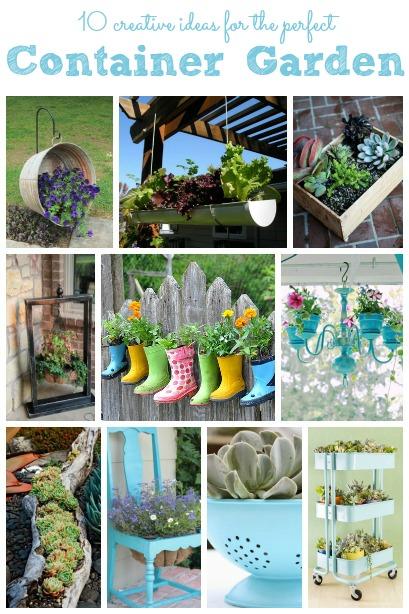 Merveilleux 10 Creative Container Gardens