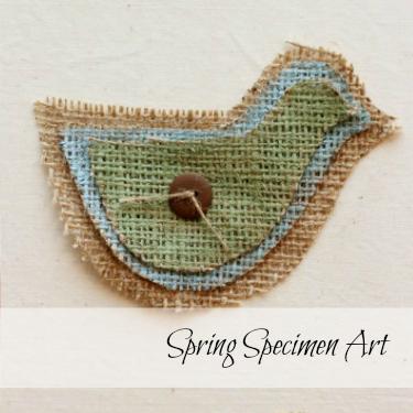 Spring Specimen Art