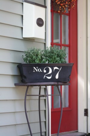 10 creative house number ideas inspired home style for Window number