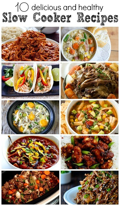 10 Delicious and Healthy Slow Cooker Recipes