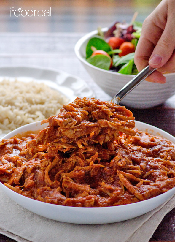 Clean Crock Pot Pulled Pork Recipe