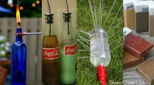 10 Brilliant Ways To Reuse Food & Drink Containers