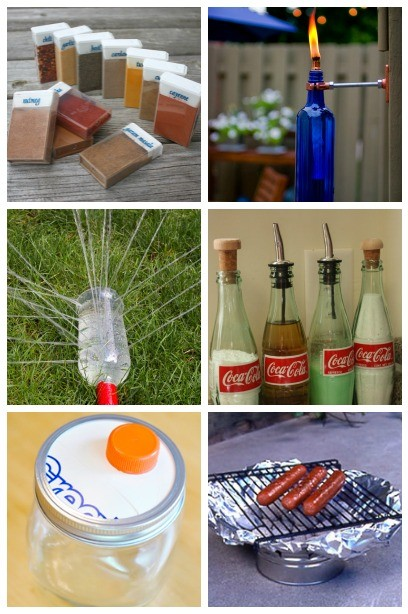 Recycling Projects ~ 10 Brilliant Ways To Use Empty Food And Drink Containers