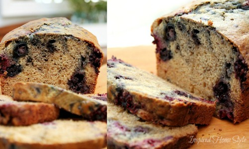 Triple Berry Breakfast Bread